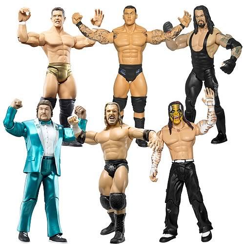 wwe adrenaline figures, wwe figures, wrestling figures, Jakks Pacific