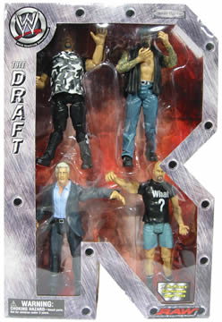 WWF Raw `R` Deluxe 4-Pack