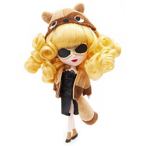 Pullip Little Pullip Madame Raccoon Doll