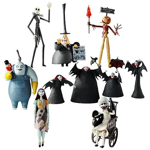 Action Figure Case - Groove USA - Nightmare Before Christmas - Action ...