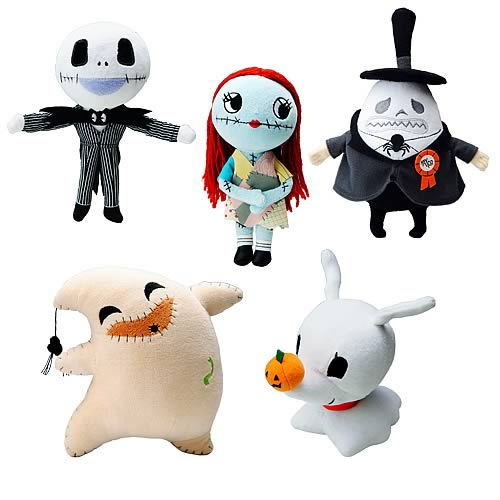 Nightmare Before Christmas Series 1 Plush Set - Groove USA ...