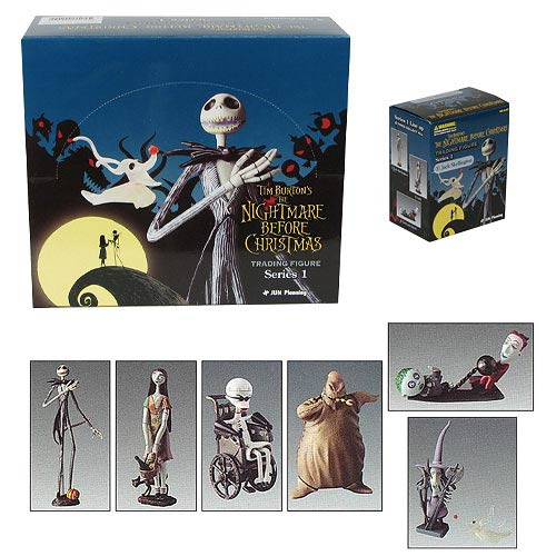 Nightmare Before Christmas Series 1 Trading Figure Set