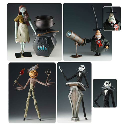 Nightmare Before Christmas Deluxe Action Figure Set