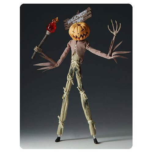 Nightmare Before Christmas Pumpkin King Scarecrow Figure