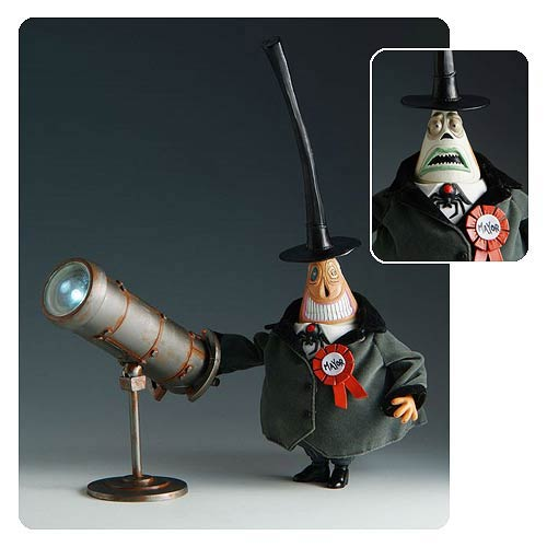 Nightmare Before Christmas Mayor and Spotlight Deluxe Figure