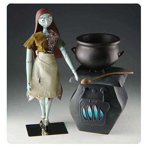 Nightmare Before Christmas Sally Cooking Deluxe Figure