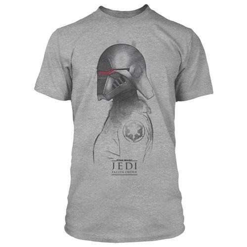 Star Wars Jedi: Fallen Order Inquisitor Sketch Premuium T-Shirt