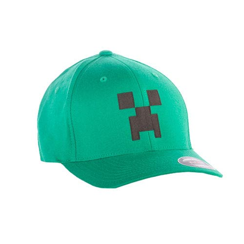 Minecraft Creeper Flexfit Green Hat