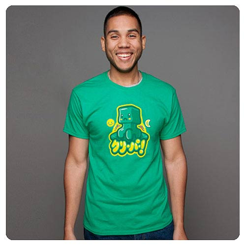 Minecraft Kawaii Creeper Green T-Shirt