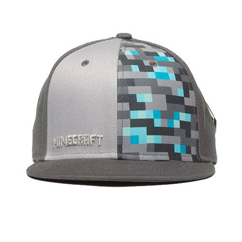 Minecraft Diamond Crafting Premium Snap-Back Hat