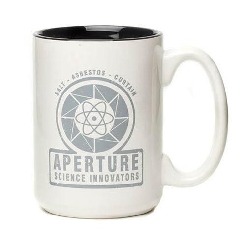Portal 2 Aperture 1940s White Mug