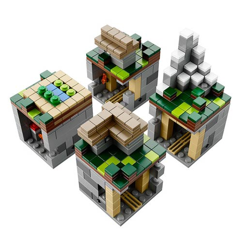 LEGO Minecraft Microworld The Village Construction Set