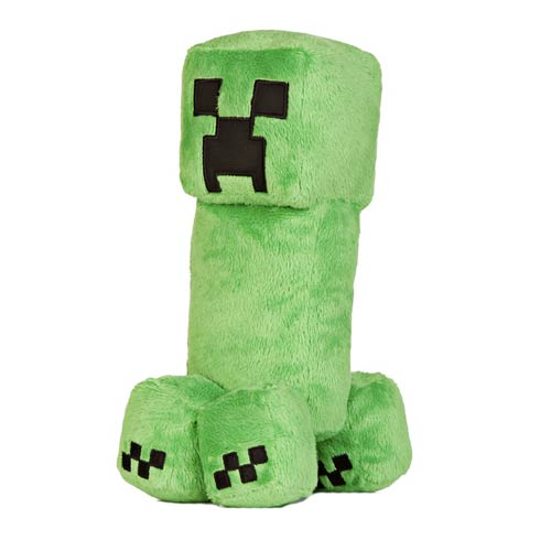 Minecraft Creeper 10 1/2-Inch Plush