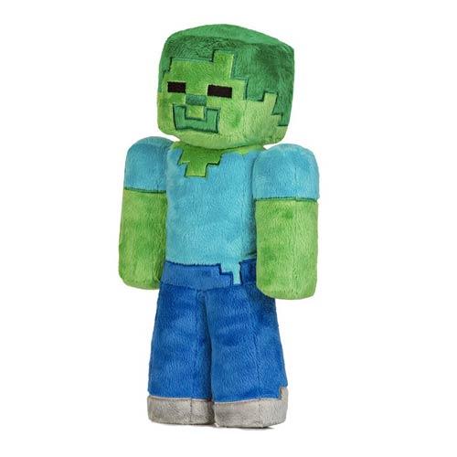 Minecraft Zombie 12-Inch Plush