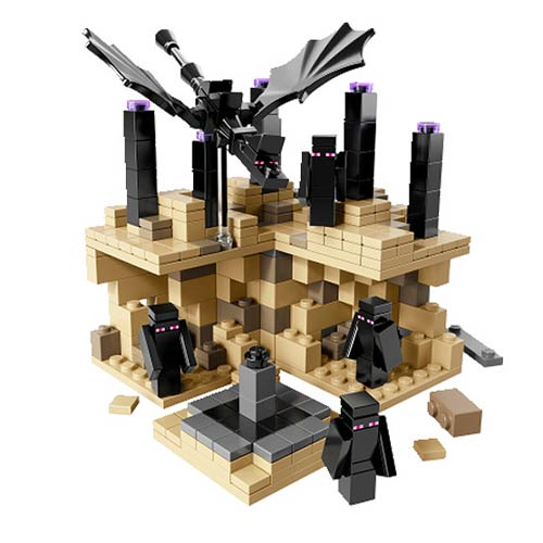 LEGO Minecraft Microworld The End Construction Set