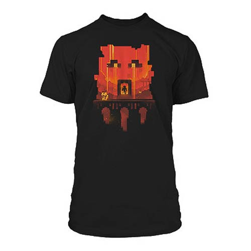 Minecraft Glimpse Black Premium T-Shirt