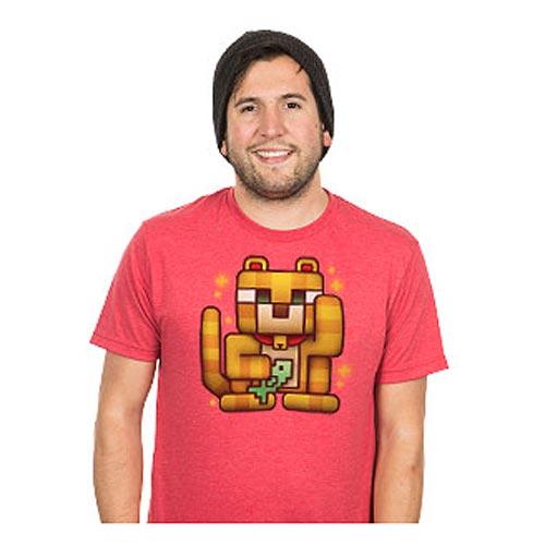 Minecraft Lucky Ocelot Premium T-Shirt