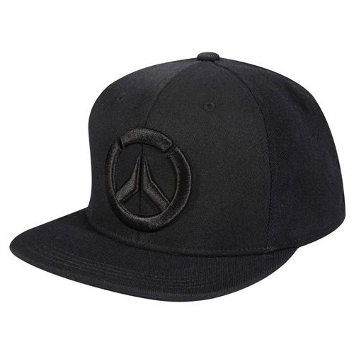 Overwatch Blackout Snap Back Hat