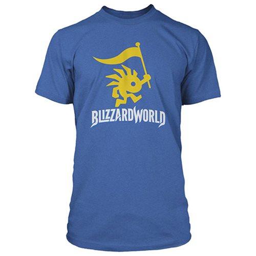 Overwatch Blizzard World Logo Men's Premium Tee