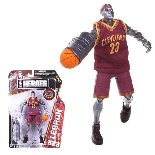 NBA Heroes LeBron James Superstar 7-Inch Action Figure