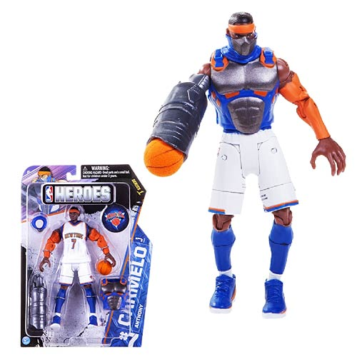 NBA Heroes Carmelo Anthony Eastern Conference Action Figure