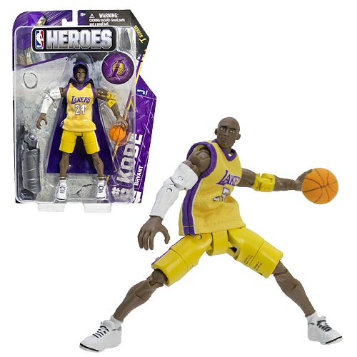 NBA Heroes Kobe Bryant Western Conference Action Figure