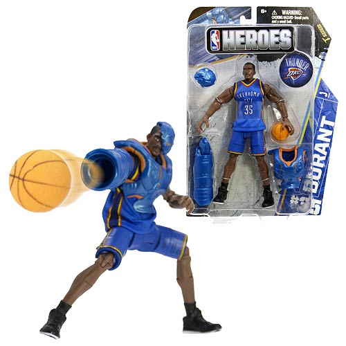 NBA Heroes Kevin Durant Western Conference Action Figure