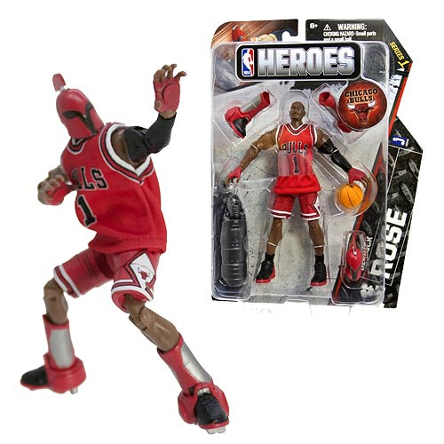 NBA Heroes Derrick Rose Eastern Conference Action Figure