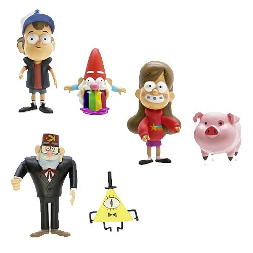 Gravity Falls 3-Inch Action Figure 2-Pack Set