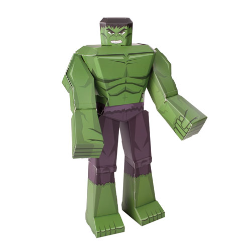 Hulk 12-Inch Marvel Blueprints Papercraft