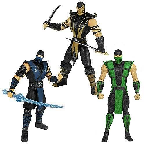 Mortal Kombat 2 4-Inch Classic Ninja Figures Wave 1 Case