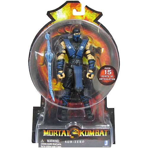 Mortal Kombat 9 6-Inch Sub-Zero Action Figure