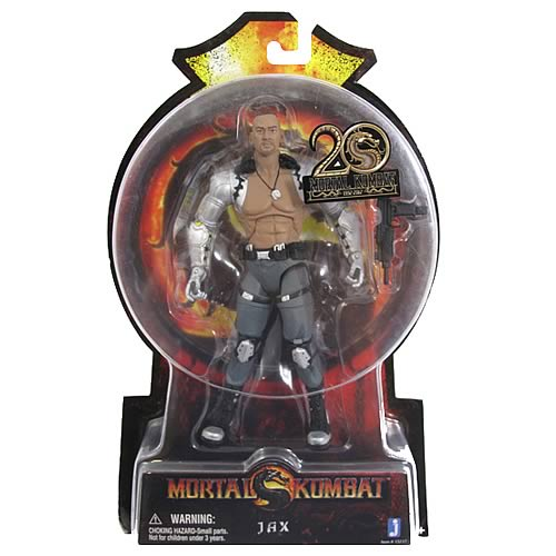 Mortal Kombat 9 6-Inch Jax Action Figure