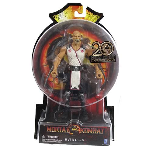 Mortal Kombat 9 Baraka 6-Inch Action Figure