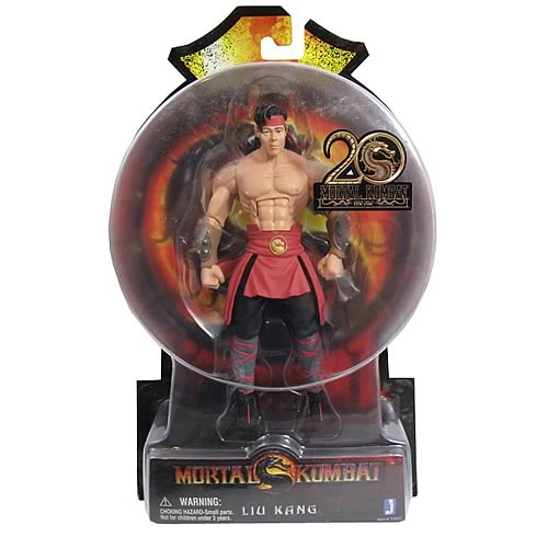 Mortal Kombat 9 6-Inch Liu Kang Action Figure