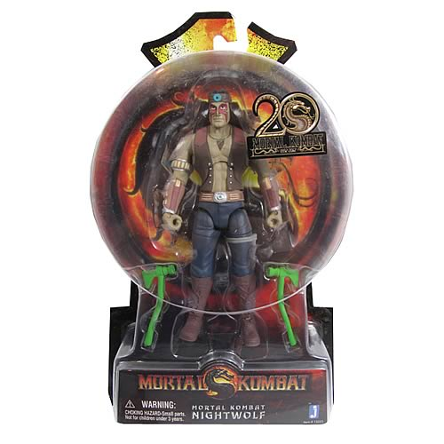 Mortal Kombat 9 6-Inch Nightwolf Action Figure