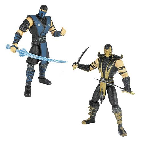 Mortal Kombat 9 4-Inch Action Figures Wave 1 Set