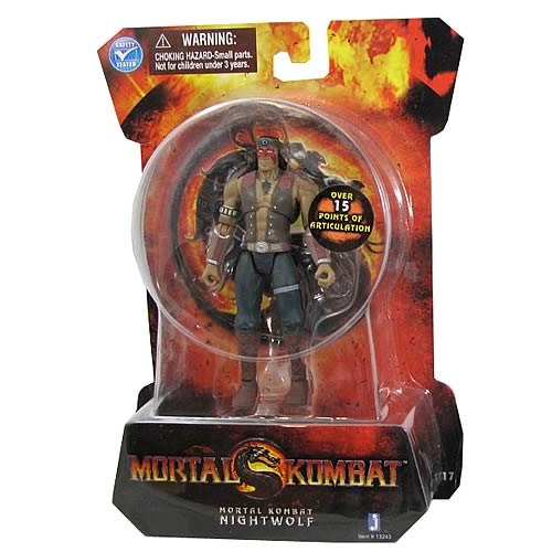 Mortal Kombat 9 4-Inch Nightwolf Action Figure