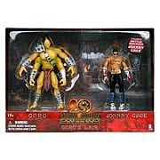 Mortal Kombat 5-Inch Goro's Lair with Johnny Cage Figure