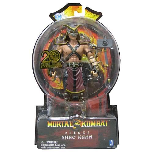 Mortal Kombat Deluxe 7-Inch Shao Kahn Action Figure