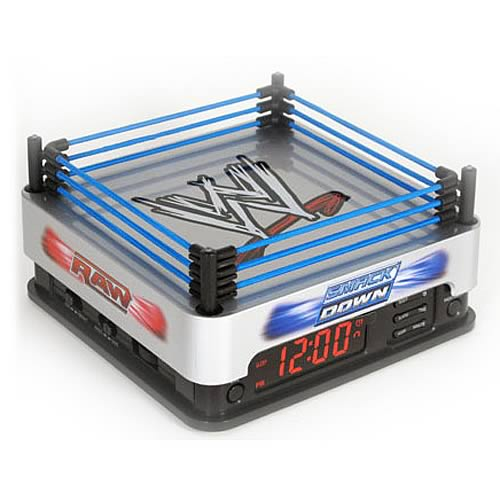 WWE Ringside Alarm Clock Radio