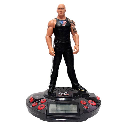 WWE Wrestling The Rock Alarm Clock