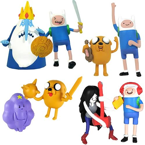Adventure Time 2-Inch Action Figures Packs Case