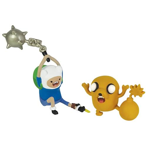 Adventure Time 2-Inch Battle Pack Finn & Jake Action Figures