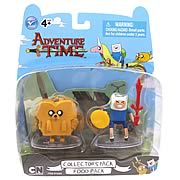 Adventure Time Finn & Jake Food Pack Action Figures 2-Pack