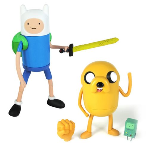 Adventure Time 5-Inch Jake and Finn Action Figure Set