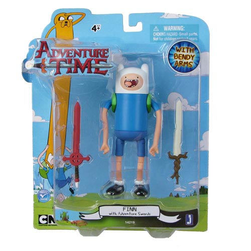 Adventure Time 5-Inch Finn with Swords Wave 2 Action Figure