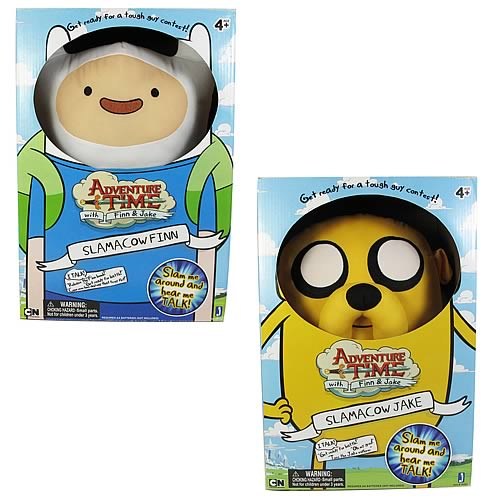 Adventure Time 20-Inch Slamacows Jake and Finn Set