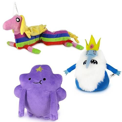 Adventure Time Fan Favorite Plush Assortment Set