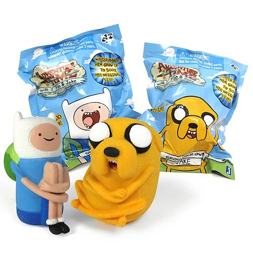 Adventure Time Grow Your Own Finn and Jake Figure Asst. Set